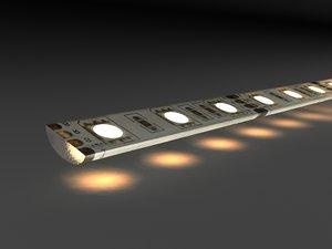 led strip 3d max