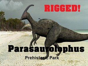 parasaurolophus prehistoric park max
