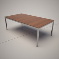 3d model quadro coffee table italia