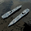 gunboat 3D models