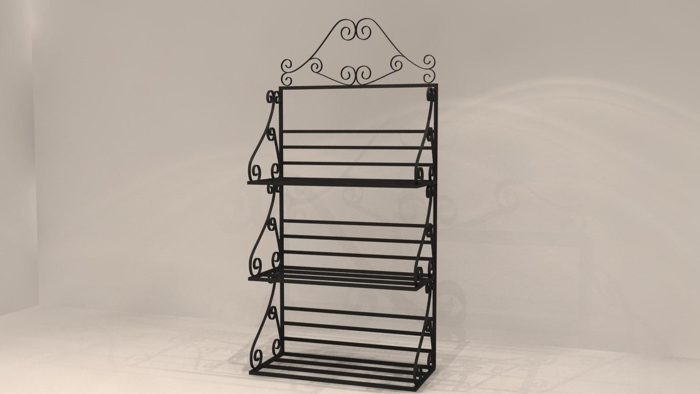 3dsmax ornate rack