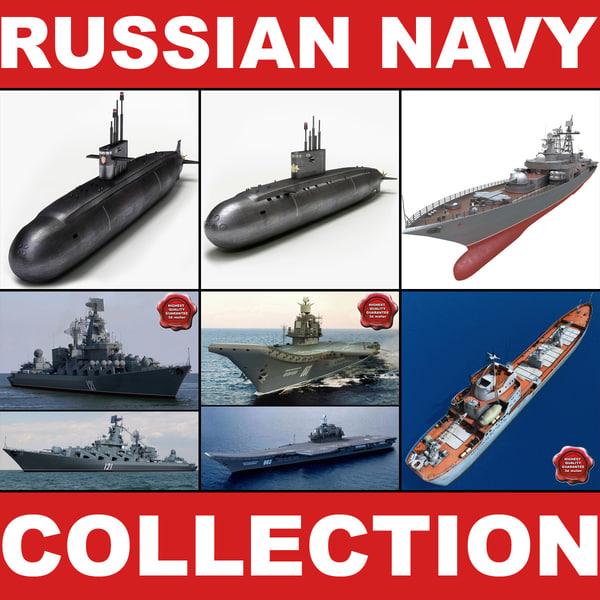 3d model russian navy v2