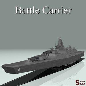 3d battle carrier