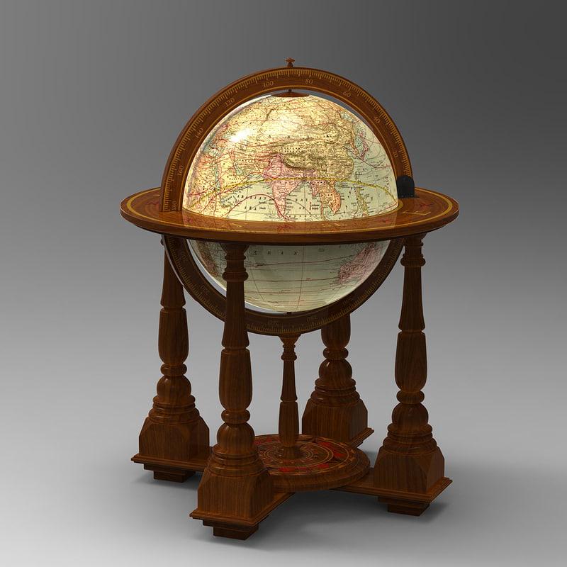 3d world globe for 16 inch floor old world bar globe cart
