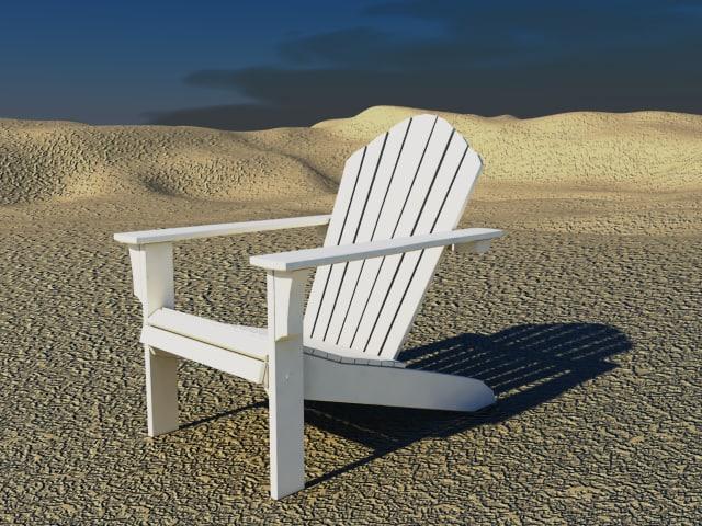 maya adirondack chair