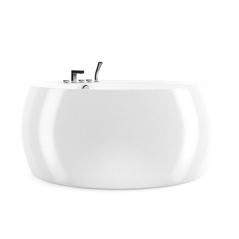 3ds max bath bathtube