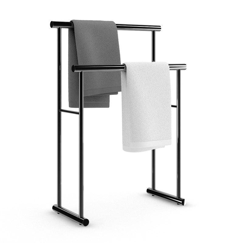 standing towel hanger max