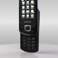 samsung gt-e2550 monte 3d model