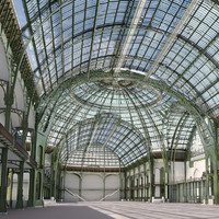 Grand Palais, Paris, mapped