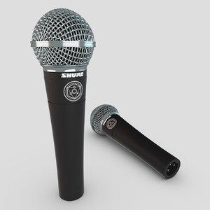 microphone shure 3d max