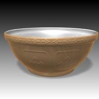 mixing bowl 3d max