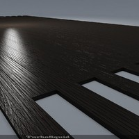 3d model of parquet floor parador outdoor