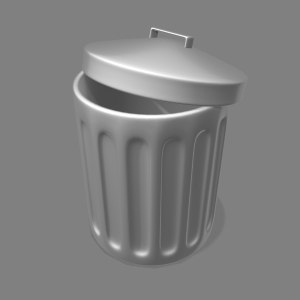3d trash