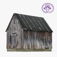 wooden barn max