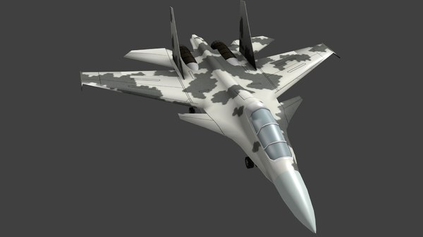 3d model sukhoi 30 fighter aircraft