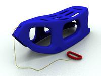 sledge crazybob 3d model
