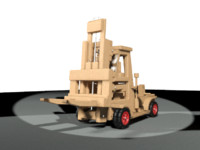 Toy Forklift Truck