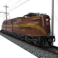 GG1 Electric Locomotive
