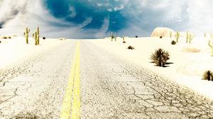 maya desert road vehicle