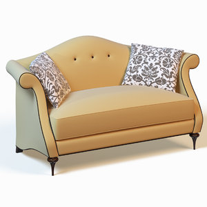 3dsmax christopher guy sofa