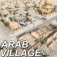 Arab Village_Low res. Textured