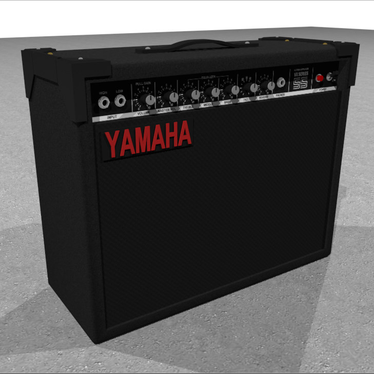 3d guitar amp amplifier