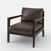 3d armchair chair model