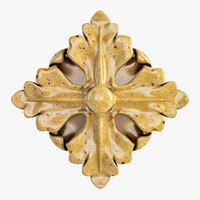 Decorative Carved Element 010