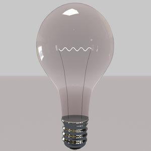 free c4d model lightbulb