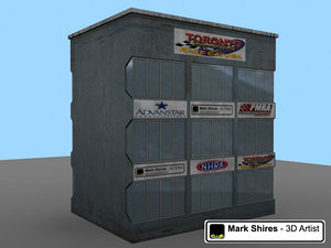 3d race control building