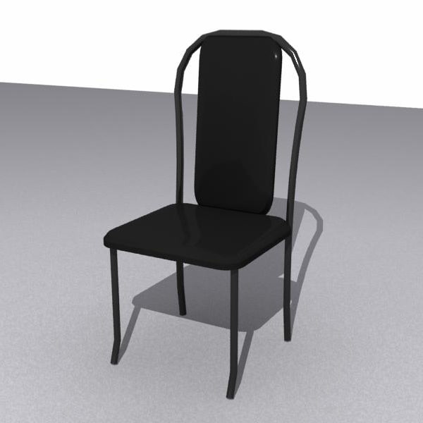 3d chair dinning room model
