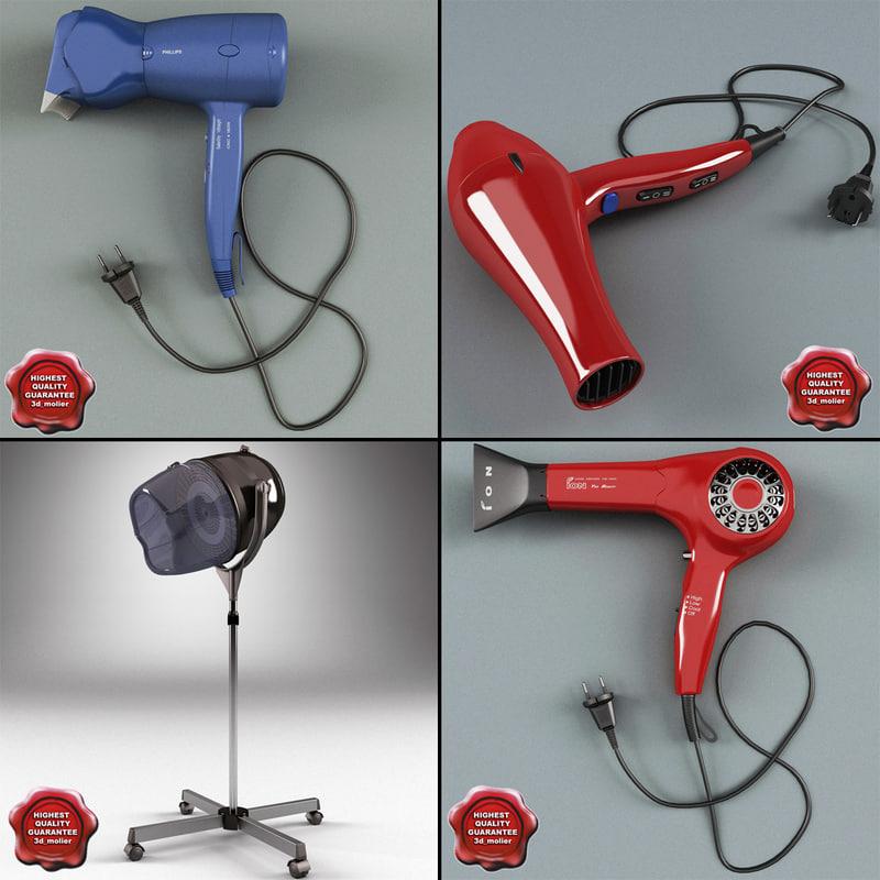 hair dryers v3 3ds
