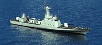 warship KILIC CLASS FAST ATTACK  CRAFT BOAT