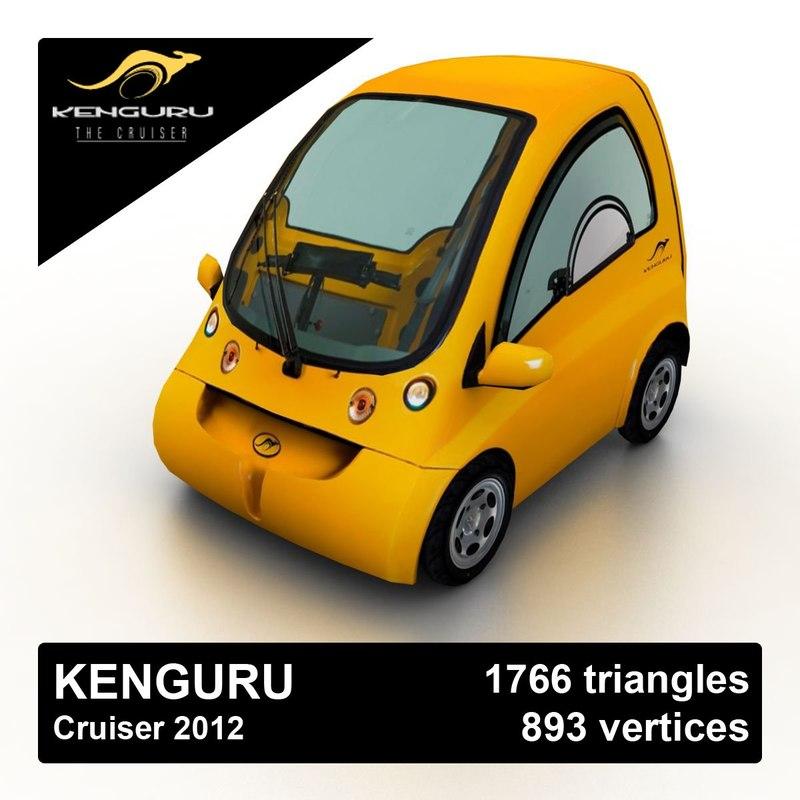 3d 2012 kenguru cruiser car