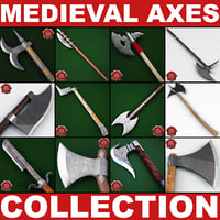Medieval Axes Collection 4