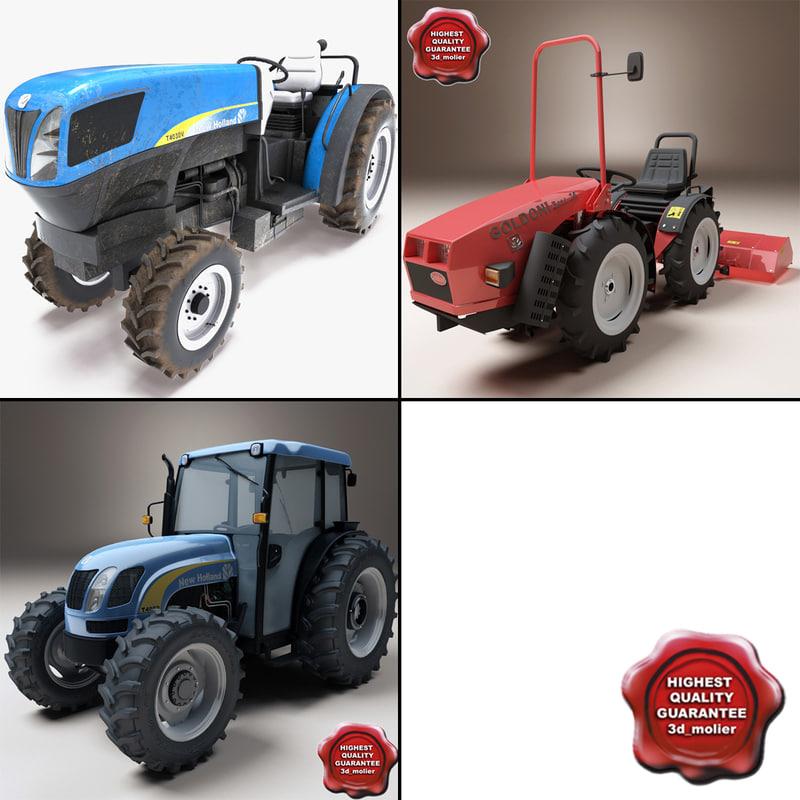 3d tractors v3 t