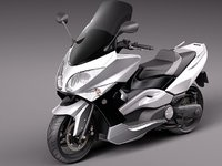 Yamaha T-Max 2008-2012