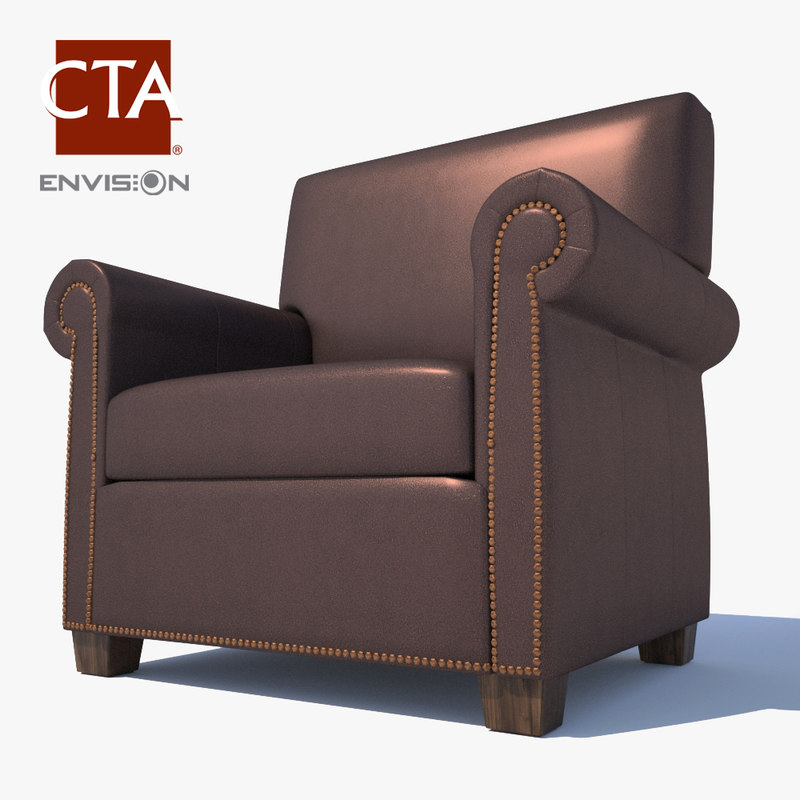 max leather lounge chair