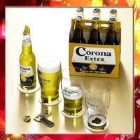 corona beer 3d max