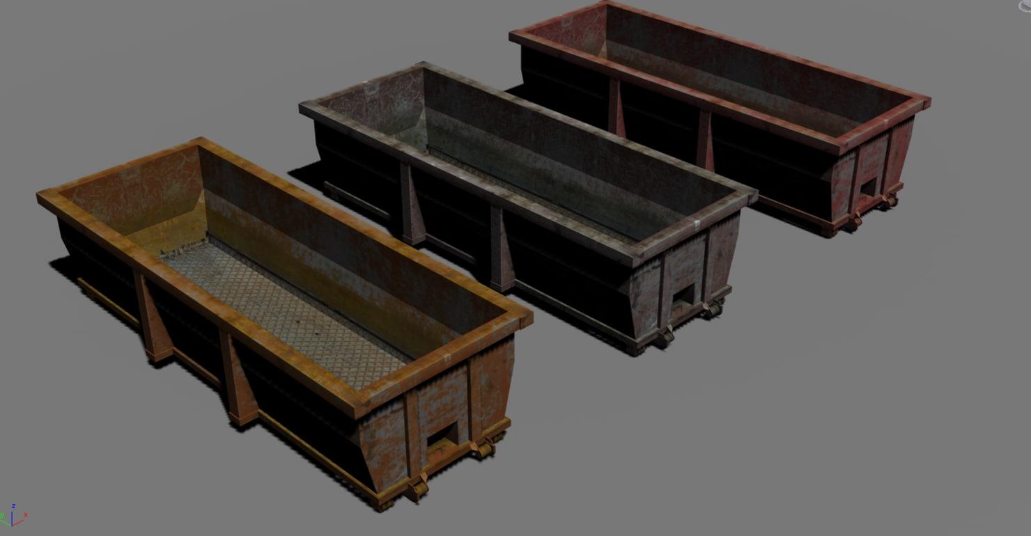 3ds large dumpsters