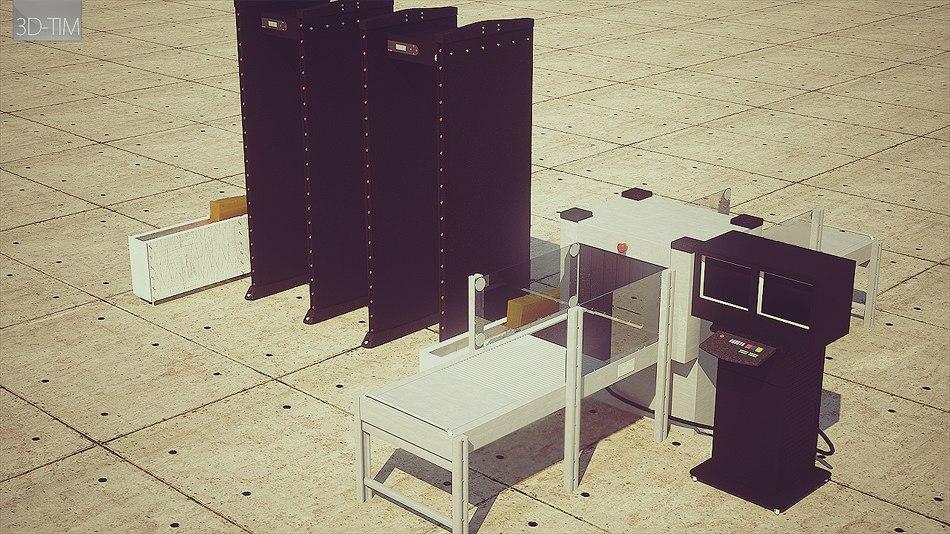 3ds max metal detector