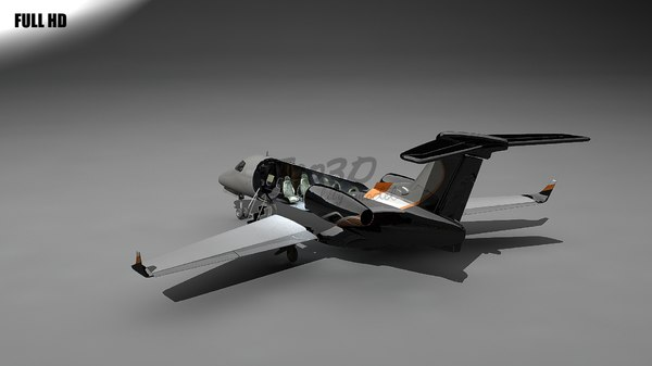embraer phenom 300 3d model