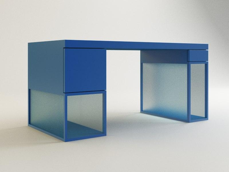 3d halo desk