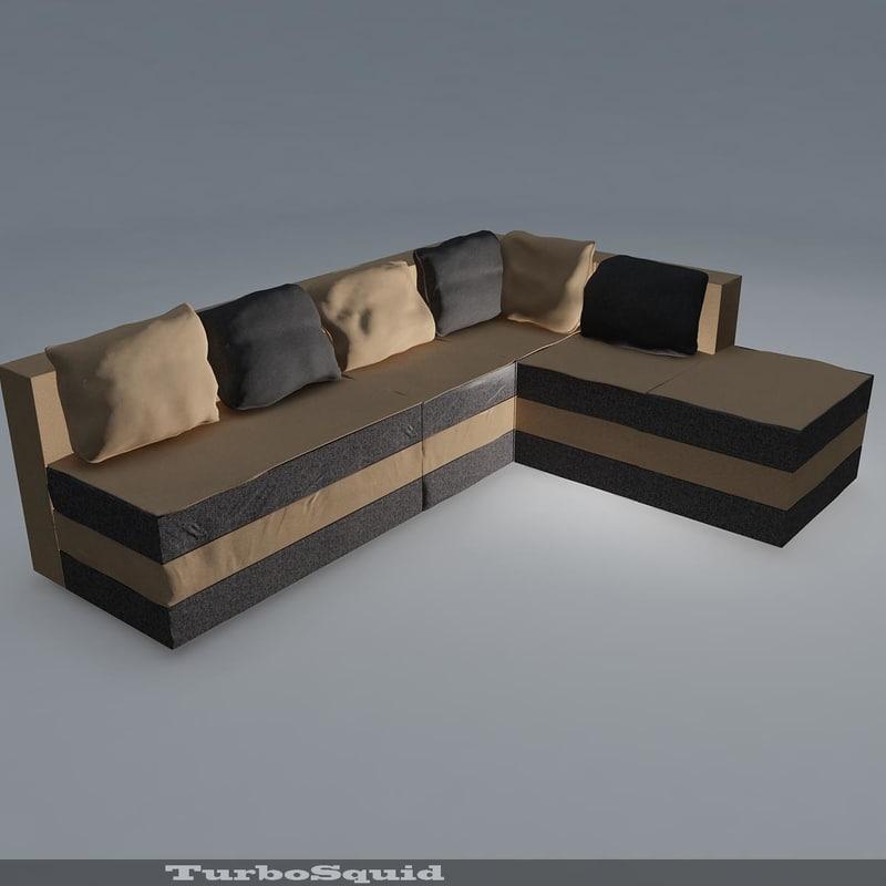 3d model sofa 02