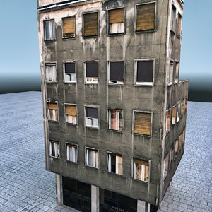 house building architecture 3d max