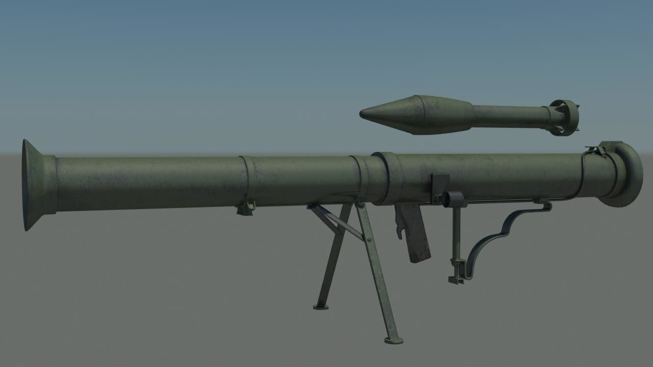 usa superbazooka 3d max