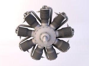3d fokker engine