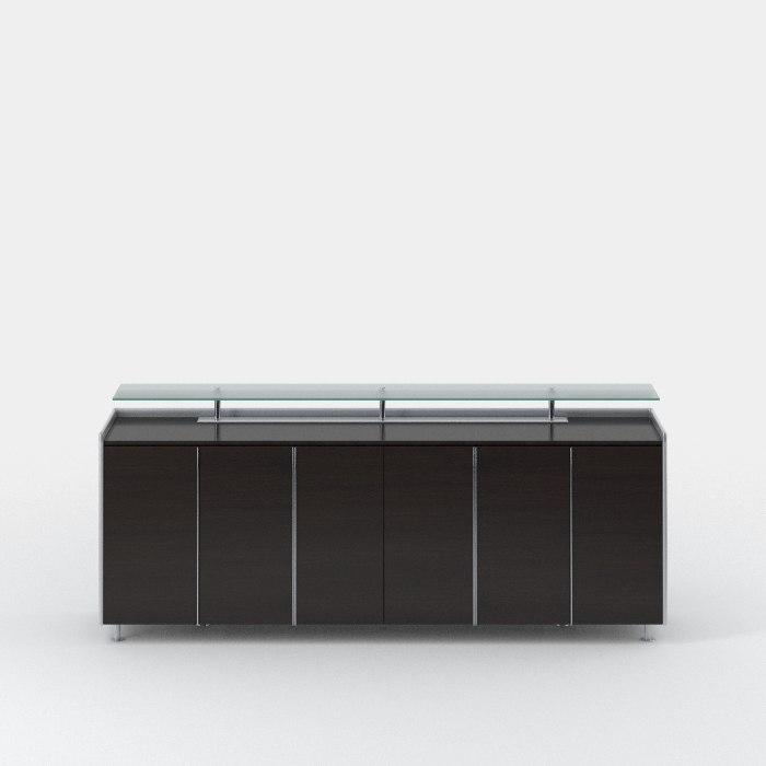 3d office desk