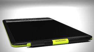 max wacom bamboo tablet