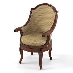 century furniture savoy 3d fbx